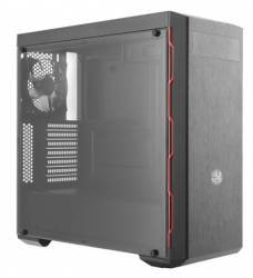Carcasa Cooler Master MasterBox MB600L Red LED Fara sursa Neagra Carcase