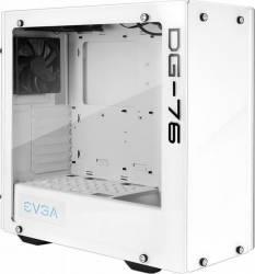 Carcasa EVGA DG-76 White RGB LED Tempered Glass Fara sursa Carcase