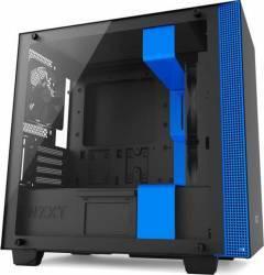 Carcasa NZXT H400 Matte Black/Blue Fara sursa Carcase