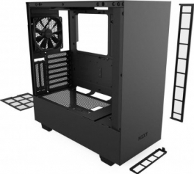 Carcasa NZXT H510i Middle Tower ATX fara sursa Matte Black Carcase