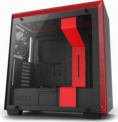 Carcasa NZXT H700 Matte Black/Red Fara sursa Carcase