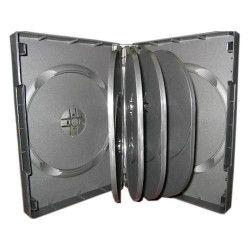 Carcasa pentru 10 discuri DVD culoare neagra