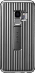 Husa Protective Standing Samsung Galaxy S9 G960 Silver Huse Telefoane