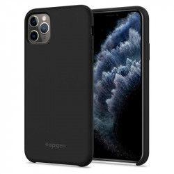 Carcasa Spigen Silicone Fit iPhone 11 Pro Black Huse Telefoane