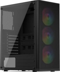 Carcasa SILENTIUM PC Ventum VT2 EVO TG ARGB Negru Carcase