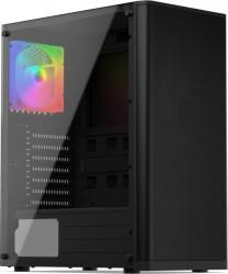 Carcasa SILENTIUM PC Ventum VT2 TG ARGB Negru Carcase