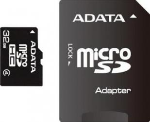 Card de Memorie ADATA microSDHC 32GB Class4+Adaptor Carduri Memorie