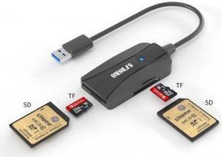 Card Reader Cititor Carduri Dublu Multifunctie Cu Cablu Accesorii Diverse