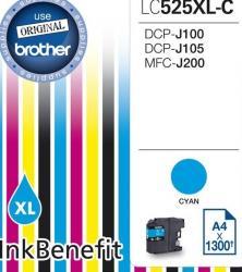 Cartus Brother LC525XLC DCPJ100 DCPJ105 MFCJ200 1300 pag Cartuse Originale