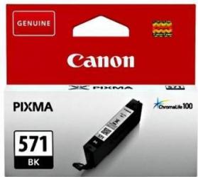 Cartus Canon CLI-571BK Negru 7ml Cartuse Originale