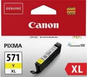 Cartus Canon CLI-571XL Galben 11ml Cartuse Originale