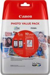 Cartus Canon PG-545XL-CL-546XL Negru si Color Cartuse Originale