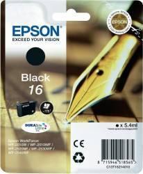 Cartus Epson 16 Negru WF-2510WF WF-2520NF WF-2530WF WF-2010W Cartuse Originale