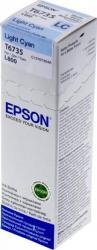 Cartus Epson T6735 L800 L805 L810 70ml Light Cyan Cartuse Originale