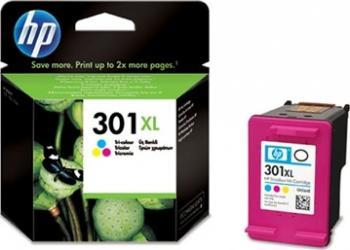 Cartus HP 301XL Tri-colour Deskjet 1050 2050 2050s 330 pag Cartuse Originale