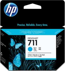 Cartus HP 711 29ml 3Pack Cyan Cartuse Originale