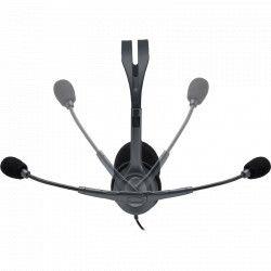 Casti cu microfon Logitech H111 Black Casti