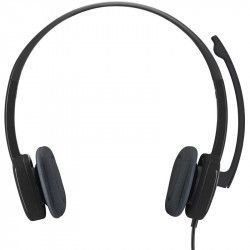 Casti cu microfon Logitech H151 Negru Casti