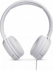 Casti audio On-ear JBL Tune 500, Pure Bass Sound, Hands-free Call Albe Casti