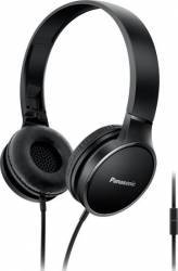 Casti PANASONIC RP-HF300ME-K, Cu Fir, On-Ear, Microfon, Negru Casti