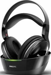 Casti audio wireless Philips SHD880012 pentru TV Bluetooth statie de incarcat Hi-Res Audio indicator LED Resigilat