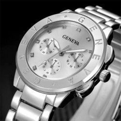 Ceas dama casual Geneva Touch silver