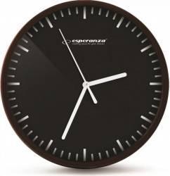 Ceas de perete Esperanza ehc010k Budapest Negru Ceasuri si Radio cu ceas