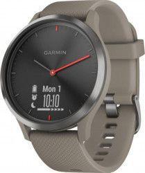 Ceas smartwatch Garmin Vivomove HR Black Sandstone Silicone Band Smartwatch
