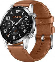 Ceas Smartwatch Huawei Watch GT 2 46mm 1.39inch AMOLED Pebble Brown