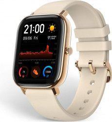 Ceas Smartwach Amazfit GTS A1914 1.65inch AMOLED Desert Gold Resigilat Smartwatch