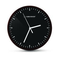 Ceas de perete Quartz cadran cu linii 20 cm Esperanza Budapest Ceasuri si Radio cu ceas