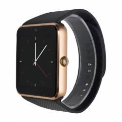 Ceas smart MediaTek TC08 Dial Gold Smartwatch
