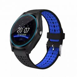 Ceas SmartWatch MediaTek V9 - Black and Blue Edition Smartwatch
