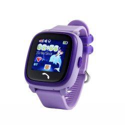 Ceas Smartwatch Pentru Copii Wonlex GW400S WiFi cu Functie Telefon Localizare GPS Pedometru SOS IP67 - Mov Smartwatch