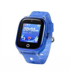 Ceas Smartwatch Pentru Copii Wonlex KT01 cu Functie Telefon Localizare GPS Camera Pedometru SOS IP67 - Albastru Smartwatch
