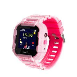 Ceas Smartwatch Pentru Copii Wonlex KT03 cu Functie Telefon Localizare GPS Camera Pedometru SOS IP67 - Roz Smartwatch