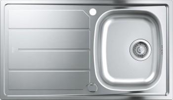 Chiuveta bucatarie GROHE K200 31552SD0 86 x 50 cm 1 cuva picurator reversibil otel inoxidabil inox satinat