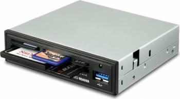 Cititor carduri AXAGON CRI-S3 USB 3.0 Gri