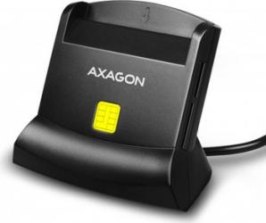 Cititor de Carduri AXAGON  CRE-SM2 Negru
