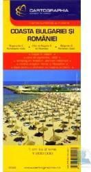 Coasta Bulgariei si Romaniei - Harta turistica si rutiera Harti