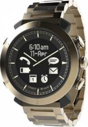 COGITO SmartWatch Classic Metal Band Gold Champagne Smartwatch