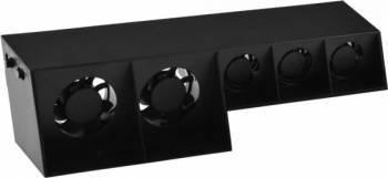Cooler Fan Dobe pentru PlayStation PS4 cu 5 ventilatoare Negru