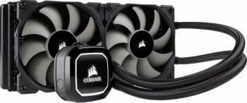 Cooler Procesor cu lichid Corsair Hydro Series H100x High Performance Coolere componente