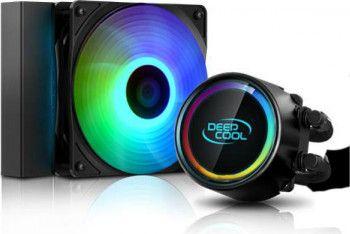 Cooler Procesor cu lichid DeepCool GAMMAXX L120 V2 RGB Coolere componente