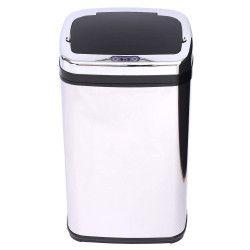 Cos de gunoi cu senzor Otel inoxidabil 30L argintiu- cos interior inclus