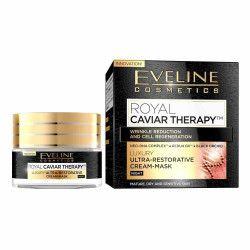 Crema-masca de noapte Eveline Cosmetics Royal Caviar Therapy 50ml Creme si demachiante