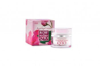 Crema Anti Imbatranire cu Q10 50ml Rose of Bulgaria