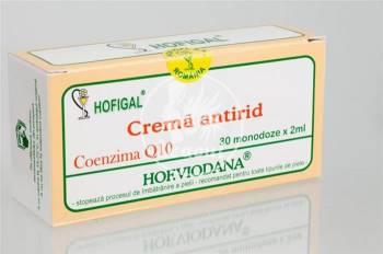 Crema Antirid Q10 Hofigal 30mdz Creme si demachiante
