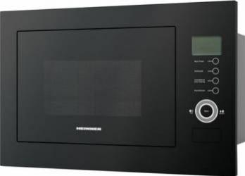 Cuptor cu microunde incorporabil Heinner HMW-25BIGBK 25 L 900 W Grill Control touch Display LCD Negru Cuptoare cu microunde