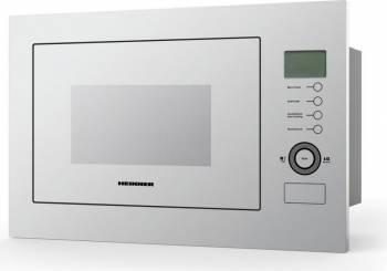 Cuptor cu microunde incorporabil Heinner HMW-25BIGWH 25 L 900 W Grill Control touch Display LCD Alb Cuptoare cu microunde